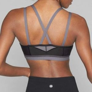 Athleta Intimates & Sleepwear - [ATHLETA] Strappy Stealth Sports Bra Medium NWT
